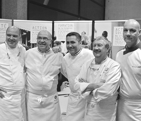 Gala de la Croix Rouge avec les Maîtres Cuisiniers